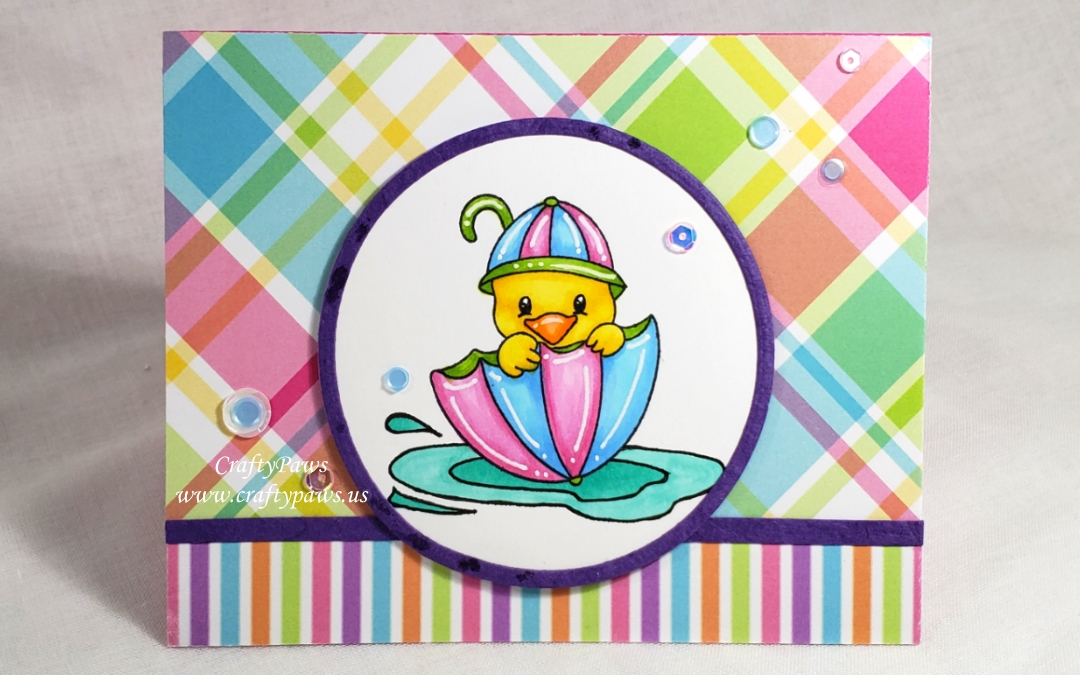Cute Ducky Encouragement Card | Scrapping for Less