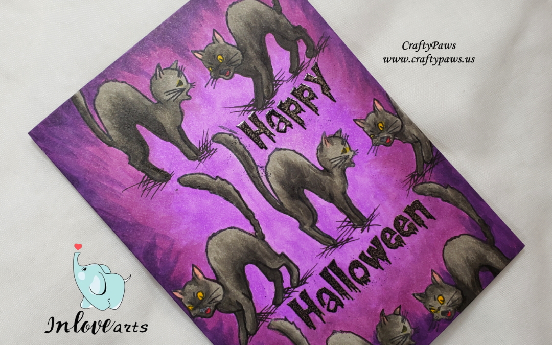 Halloween CATS Everywhere! inloveartshop DTP