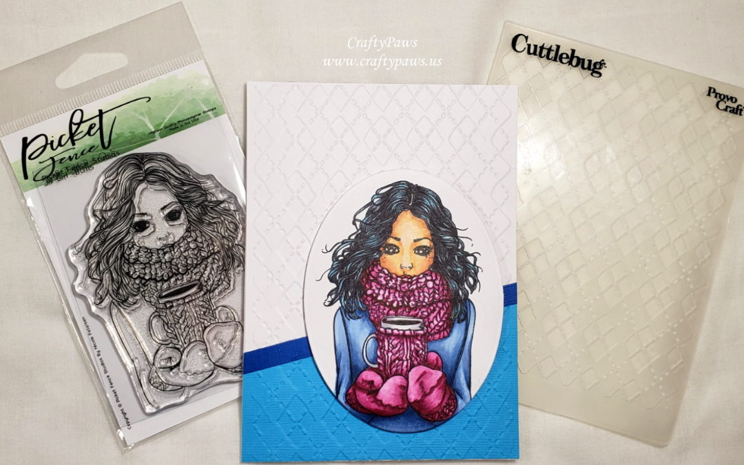 Copic Coloring Textures: Wavy Hair and Chunky Knits