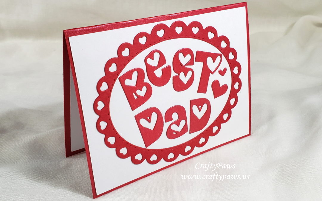 Fast Fathers' Day Pop Up Card
