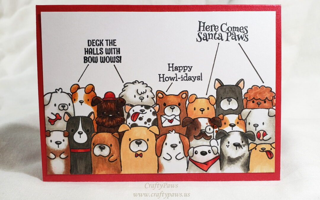 Happy Howl-idays from the Pack