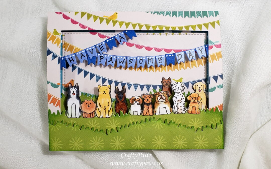 Have a Pawsome Birthday from the Whole Pack!