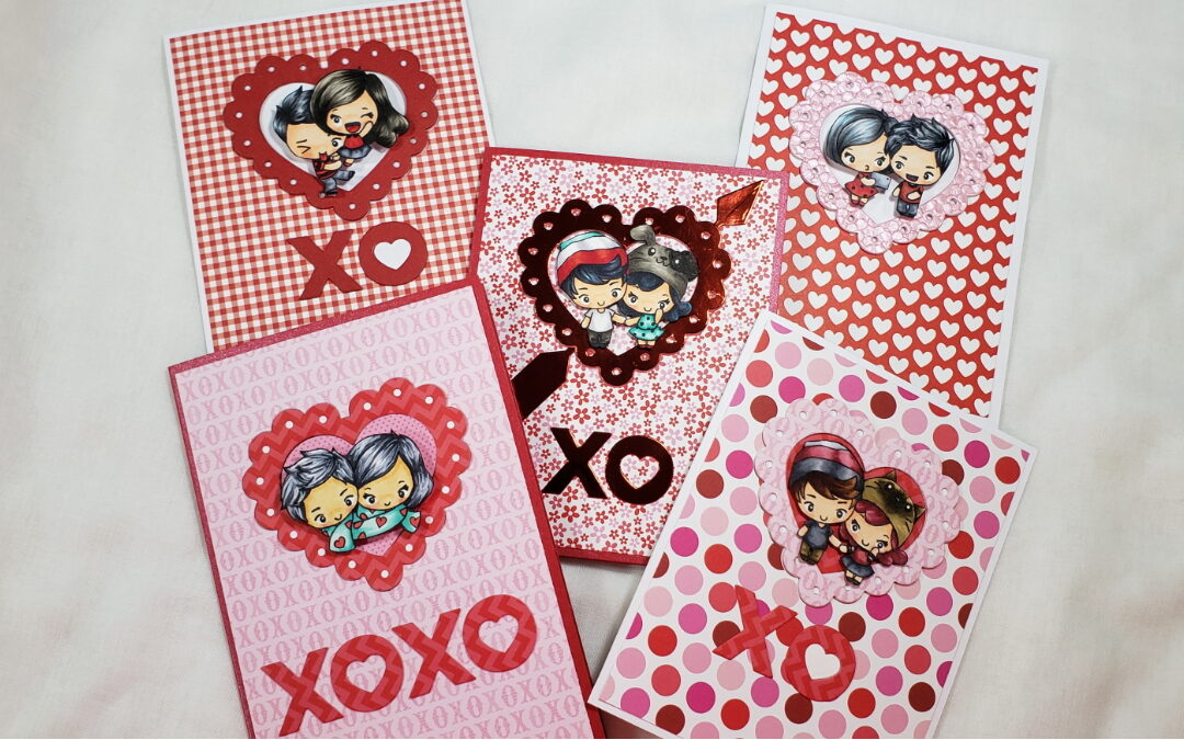 Making 5 Quick and EASY Valentine's Day Cards – TGF Guest Designer Project