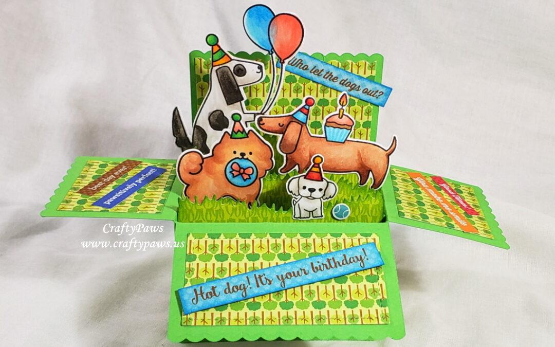 Woof Woof Happy Birthday